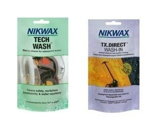 NIKWAX set Tech Wash +TX Direct Wash-In 2x100ml sachets