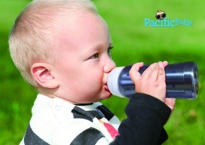 Termobutelka Pacific Baby 200 ml, 3w1 - bordowa